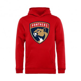 Florida Panthers dziecięca bluza z kapturem red Primary Logo Hoodie