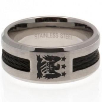 Manchester City pierścionek Black Inlay Ring Small EC
