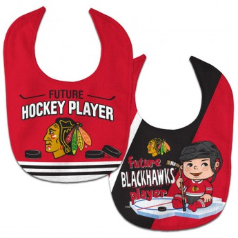 Chicago Blackhawks śliniak WinCraft Future Hockey Player 2 Pack