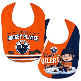 Edmonton Oilers śliniak WinCraft Future Hockey Player 2 Pack