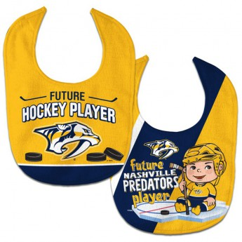 Nashville Predators śliniak WinCraft Future Hockey Player 2 Pack