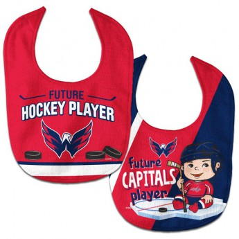 Washington Capitals śliniak WinCraft Future Hockey Player 2 Pack