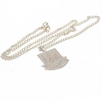 West Ham United naszyjnik z zawieszką Silver Plated Pendant & Chain XL CT