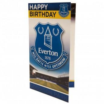 FC Everton życzenia urodzinowe Birthday Card