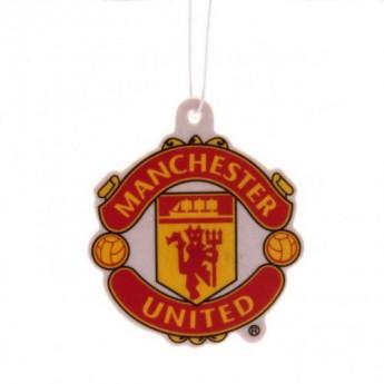 Manchester United odświeżacz powietrza logo redblack