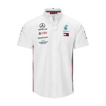 Mercedes AMG Petronas koszula męska white F1 Team 2019