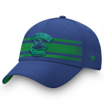 Vancouver Canucks czapka baseballówka Iconic Stripe Speed Flex