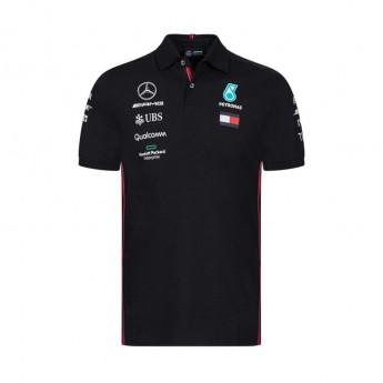 Mercedes AMG Petronas męska koszulka polo black F1 Team 2019