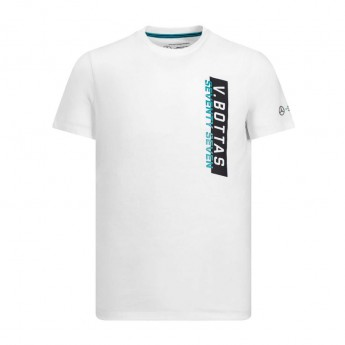 Mercedes AMG Petronas koszulka męska white Bottas 77 F1 Team 2019