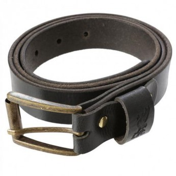 Liverpool pasek skórzany Leather Belt Large BK
