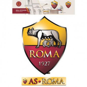 AS Roma naklejki large wall sticker set