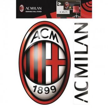 AC Milan naklejki large wall sticker set
