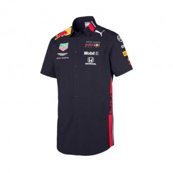 Red Bull Racing koszula męska navy Team 2019