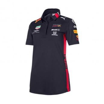 Red Bull Racing damska koszulka polo navy Team 2019