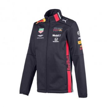 Red Bull Racing Dziecięca kurtka softshell navy Team 2019