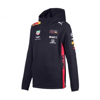 Red Bull Racing dziecięca bluza z kapturem navy Team 2019