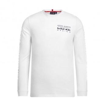 Red Bull Racing męska koszulka z długim rękawem white long Team 2019