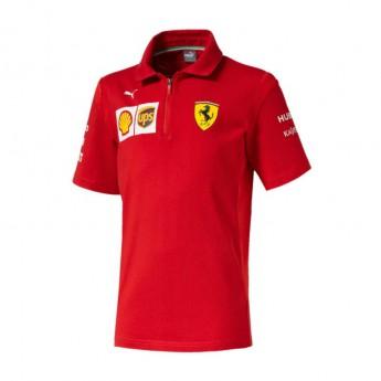 Ferrari dziecięca koszulka polo red F1 Team 2019