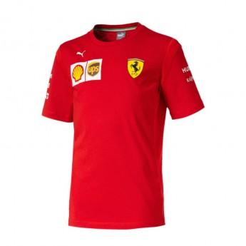 Ferrari koszulka dziecięca red F1 Team 2019