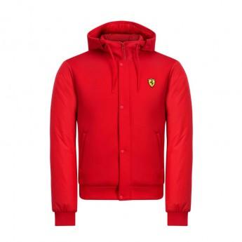 Ferrari męska kurtka z kapturem red Bomber F1 Team 2019