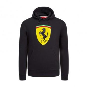 Ferrari męska bluza z kapturem black Logo F1 Team 2019
