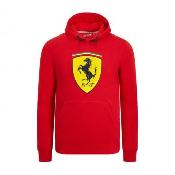 Ferrari męska bluza z kapturem red Logo F1 Team 2019