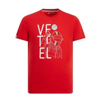 Ferrari koszulka męska red Vettel Fan F1 Team 2019