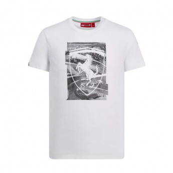 Ferrari koszulka męska white Collage F1 Team 2019