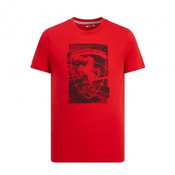 Ferrari koszulka męska red Collage F1 Team 2019