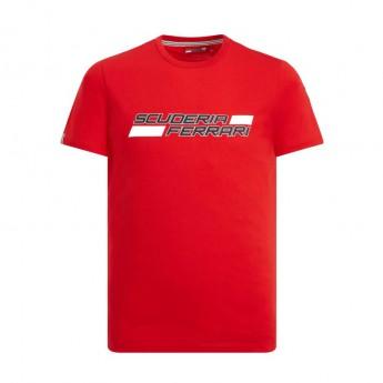 Ferrari koszulka męska Logo red F1 Team 2019