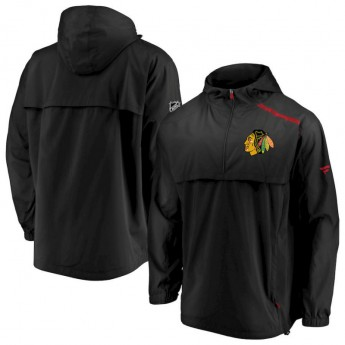Chicago Blackhawks kurtka męska Authentic Pro Rinkside Anorak 1/4-Zip