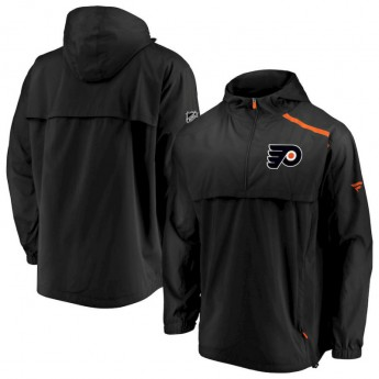 Philadelphia Flyers kurtka męska Authentic Pro Rinkside Anorak 1/4-Zip