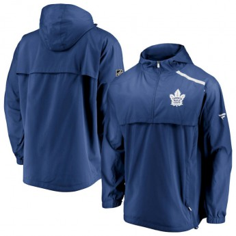 Toronto Maple Leafs kurtka męska Authentic Pro Rinkside Anorak 1/4-Zip
