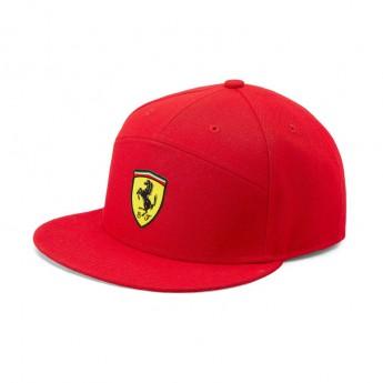 Ferrari czapka flat baseballówka Flat Brim red F1 Team 2019