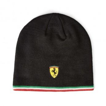 Ferrari czapka zimowa black F1 Team 2019