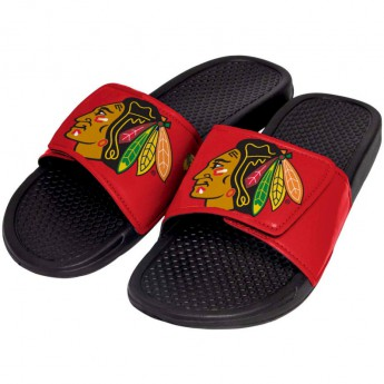 Chicago Blackhawks kapcie dziecięce Cropped Big Logo Slide