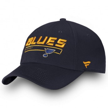 St. Louis Blues dziecięca czapka baseballowa Authentic Pro Rinkside Alpha