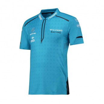 Williams męska koszulka polo Team blue F1 Team 2019