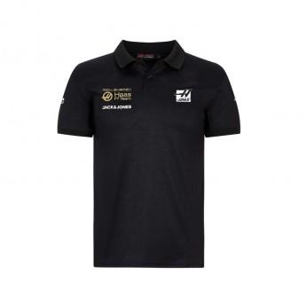 Haas F1 męska koszulka polo Energy black F1 Team 2019