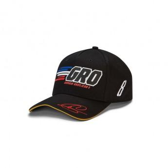 Haas F1 czapka baseballówka Energy Grosjean black F1 Team 2019