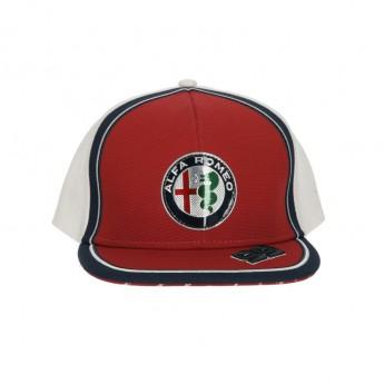 Alfa Romeo Racing czapka flat baseballówka Giovinazzi red F1 Team 2019
