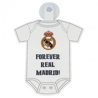 Real Madrid mini body do samochodu Baby On Board Sign