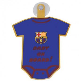 Barcelona mini body do samochodu Baby On Board Sign