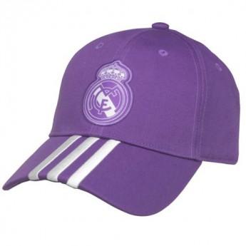 Real Madrid czapka baseballówka purple Adidas Cap