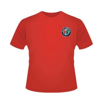 Alfa Romeo Racing koszulka męska Logo Red F1 Team 2019