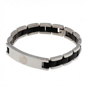 FC Celtic opaska Black Inlay Bracelet