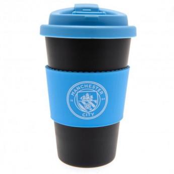 Manchester City kubek podróżny Silicone Grip Travel Mug