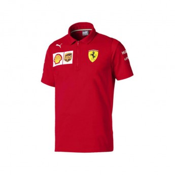 Ferrari męska koszulka polo red NMWN F1 Team 2019